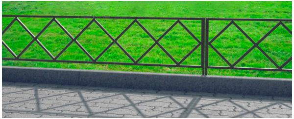 газонное ограждение